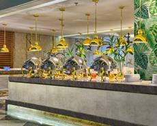餐厅墙体设计,酒店防火墙板