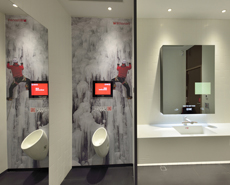 卫生间墙板设计,卫生间艺术板