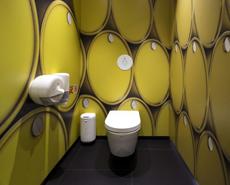 卫生间墙板,洗手间艺术墙板