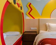 艺术墙板设计,儿童房间墙板