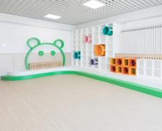 儿童乐园墙体设计,幼儿园墙板