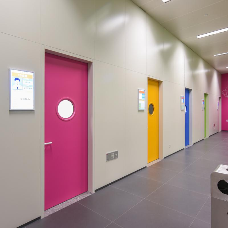 医疗墙板设计中的色彩