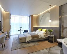 装配式酒店墙体,酒店墙体设计