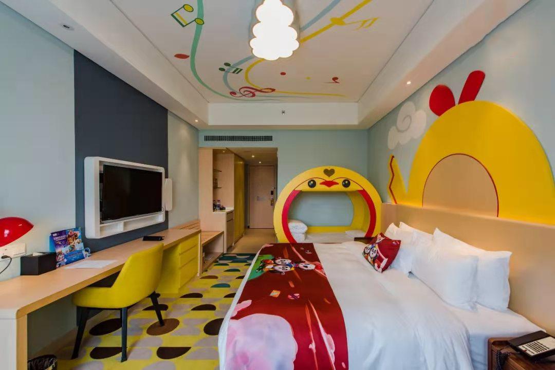 儿童度假区酒店装配式墙体项目案例
